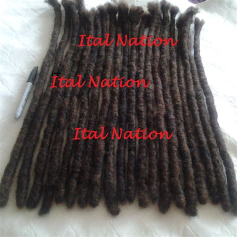 human hair loc extensions unavailable listing on etsy
