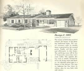 Vintage House Plans 1803 Antique Alter Ego 1960 S Home Plans