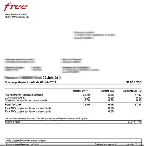 Lettre De Retractation Free Box Exemple Facture 2014 Document