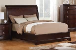Twin Bedroom Sets noah queen bed dark cherry leon s