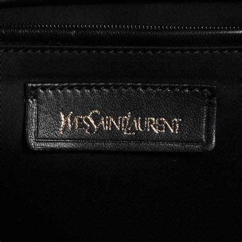 Ysl Muse Gray Blue by Yves Laurent Patent Calfskin Oversized Muse Grey
