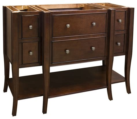 Lyn Vanity Without Top 48 Quot Traditional Bathroom 48 Bathroom Vanity Without Top