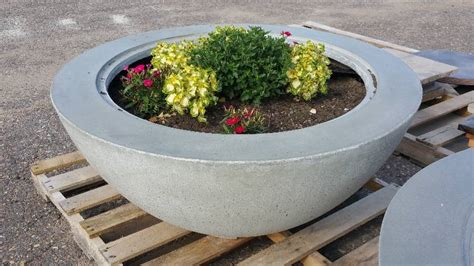 Polished Concrete Planters by Polished Concrete Planters Table Tops Pavers And More