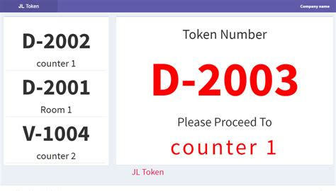 layout design and queue management jl token queue management system by justlabtech codecanyon