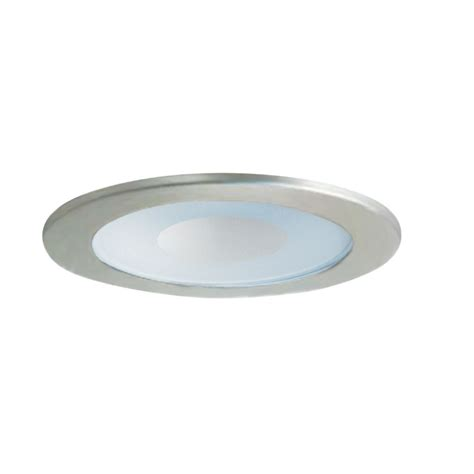 Recess Light by Satin Chrome Shower Trim For 4 Inch Recessed Cans 12w Sc