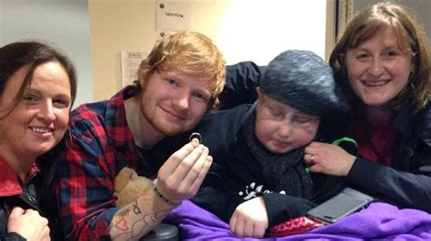 ed sheeran mom ed sheeran accepts fan s proposal days before her death