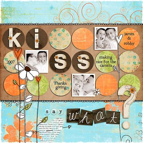 scrapbook layout ideas for lots of pictures 106 best scrapbooking images on pinterest scrapbook