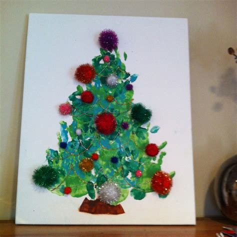 handprint christmas tree holiday crafts and some