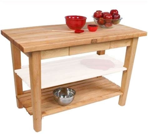 butcher block prep table 7 prep tables with wood top for your kitchen furniture