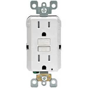 leviton 15 amp 125 volt duplex smartest self test smartlockpro ter resistant gfci outlet