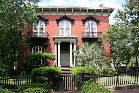 mercer house tour first day in savannah