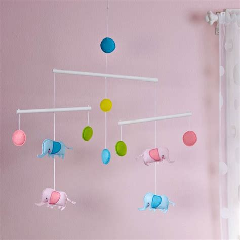 Zutano Blue Elephantasia Ceiling Mobile Mobiles Baby Ceiling Mobiles For Adults