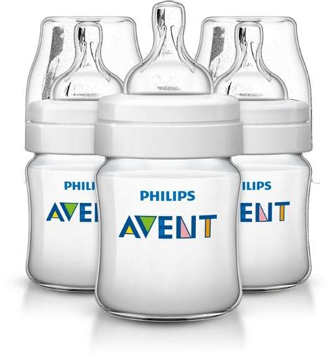 Avent Classic Bottle 3x125ml Anti Colic buy philips avent classic feeding anti colic bottle 125ml 4oz 3 pack scf560 37 from our