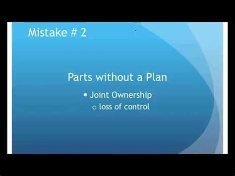 10 Most Common Estate Planning Mistakes And How To Avoid Them avoiding common estate planning mistakes