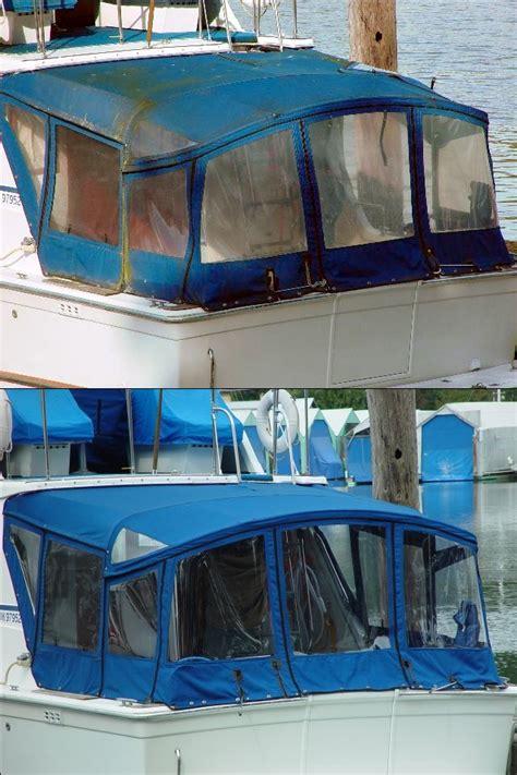 canvas boat cover treatment green sea sail treatments inc