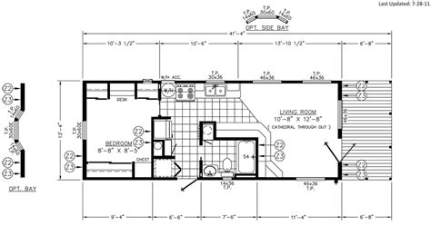 Floor Plans With Porches by Hickory Porch Floor Plan Park Model Homes Florida