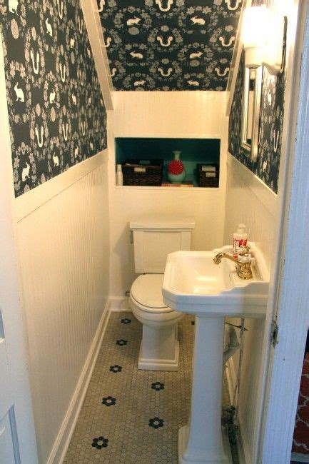 Small Half Bathroom Layout