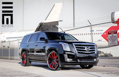 cadillac escalade custom cadillac escalade on custom rims with accents carid