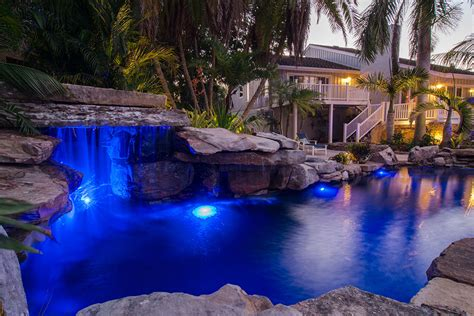 Backyard Pool With Lazy River Lucas Lagoons Pool And Koi Pond As Seen On Insane Pools