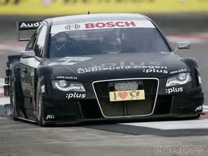 black car race car dtm audi a4