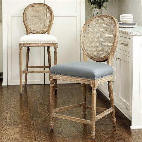 cane back bar stools louis cane back barstool ballard designs