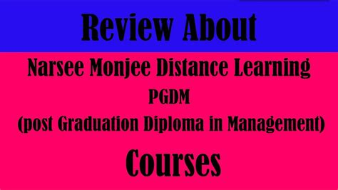 Narsee Monjee Institute Of Management Studies Distance Learning Mba by Welingkar Distance Learning Cheap Welingkar