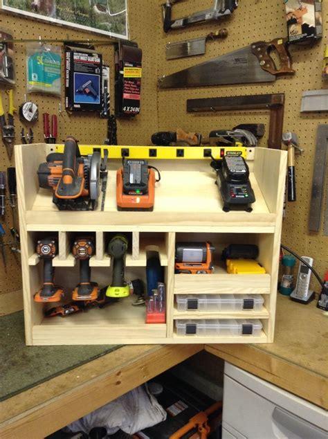 Garage Organization Power Tools 1000 Ideas About Power Tool Storage On Tool