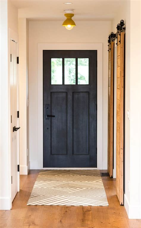 Black Exterior Door 25 Best Ideas About Black Front Doors On Paint Doors Black Black Door And Black