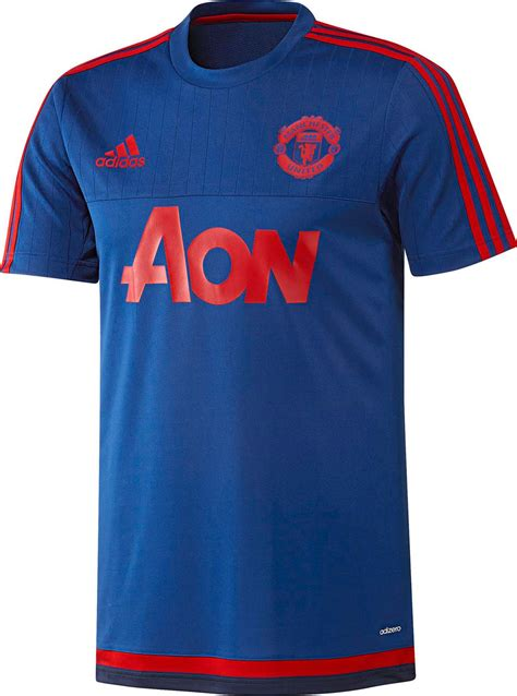 Jersey Mu Aon Blue adidas manchester united 15 16 shirts released footy headlines