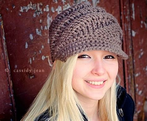 taupe knit hat taupe womens hat swirl beanie with visor in