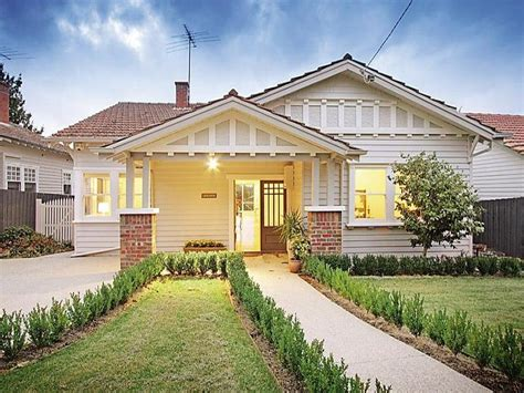 photo of a brick house exterior from real australian home house facade photo 401735