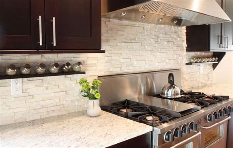 stone tile kitchen backsplash 15 modern kitchen tile backsplash ideas and designs