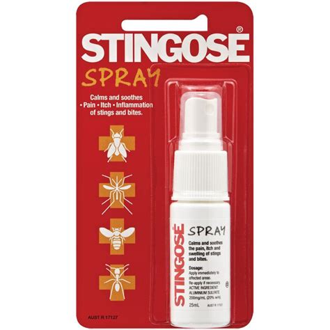 buy stingose spray pack 25ml at chemist warehouse 174