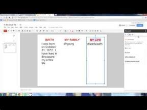 google docs presentation abam brochure youtube