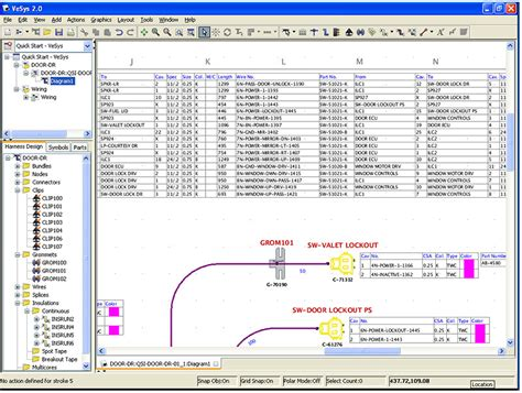 wire software vesys harness mentor graphics