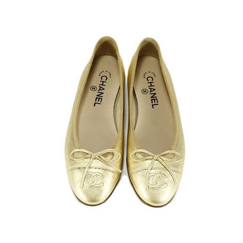 Casey Ballerina Flat 4 by Second Chanel Ballerina Flats The Fifth Collection