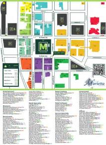 marietta map map marietta square walk