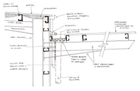 gutter section finchy s srt251 blog week 4 detailed sections of gutter