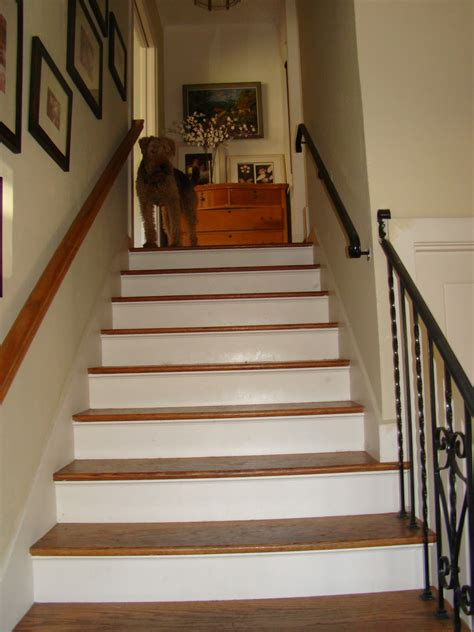 How Can We Decorate Our Home by Wallpapered Stair Risers Barnaclebutt