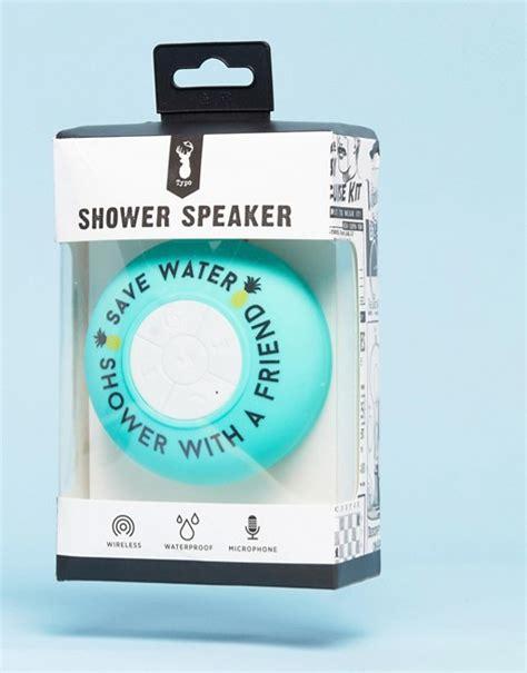 typo typo save water bluetooth shower speaker