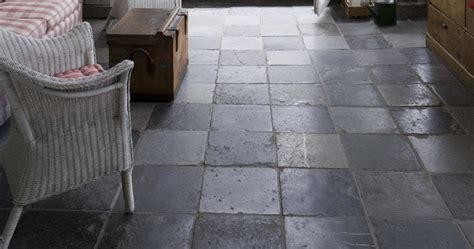 Bluestone Flooring Interior by Reclaimed Belgian Bluestone Oak Flooring