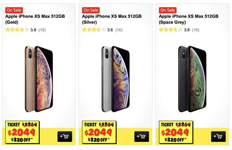 jb hi fi slashes the price of the iphone xs max 512gb tech guide