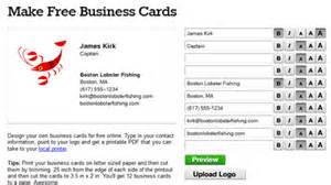 make free business cards design your own free custom business card