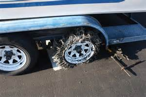 Boat Trailer Tire Rot Would You Pull A Boat Trailer With A Flat Tire