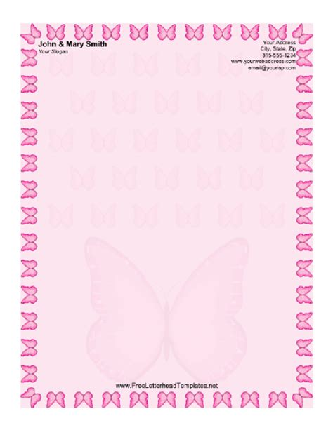 butterfly border template free printable butterfly borders