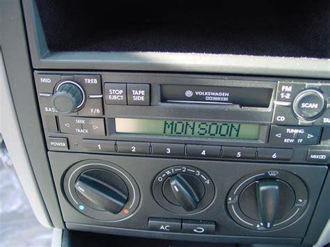 Volkswagen Jetta Radio by How To Install New Audio Gear In Your 1999 2005 Volkswagen