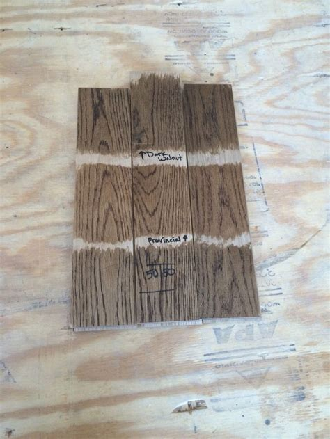 mixing floor stains decisions decisions picking a minwax stain walnut