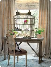 Home Interior Bird Cage by Give Your Home A Chic Decor By Reusing Your Old Bird Cage