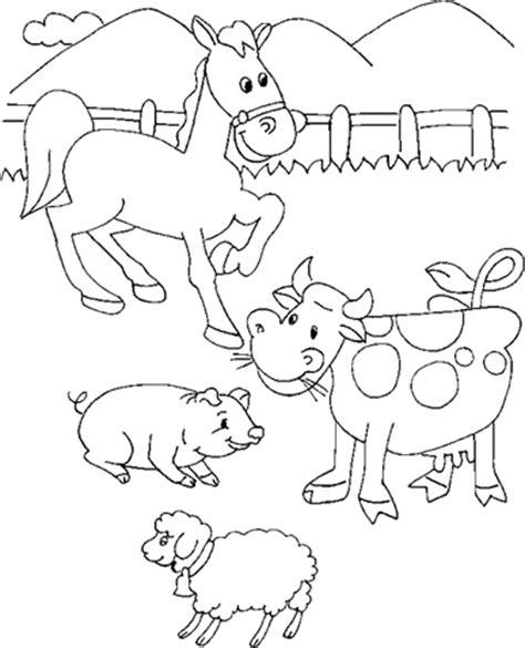imagenes de animales dela granja para colorear dibujos para colorear de animales de granja dibujos de