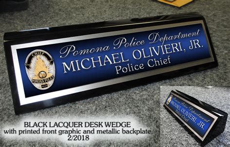 custom desk name plates custom desk name plates police ayresmarcus
